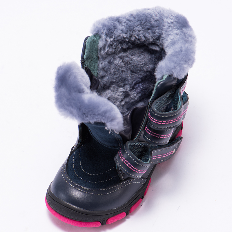 58161a1a73 Princepard 2018 multicolor winter orthopedic boots for kids 100% natural  fur genuine leather orthopedic shoes boys girl 21 36 -in Sneakers from  Mother ...