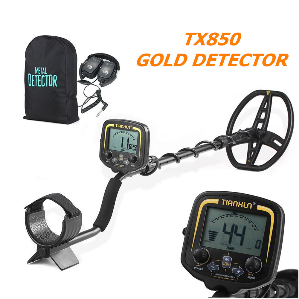 New Arrival TX-850 Underground Metal Detector TX850 Gold Digger Treasure Hunter \ MD6350 Updated Version Two Year Warranty new arrival tx 850 metal detector professional underground gold detector tx 850 treasure hunter tx 850 updated version