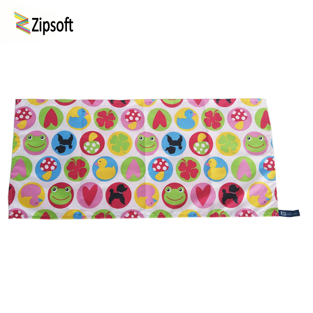 Zipsoft Towel Pink Baby thick Towel Sports Bath Quick Dry Swimming Pool for Children Fibers for the Beach Hiking and Camping
