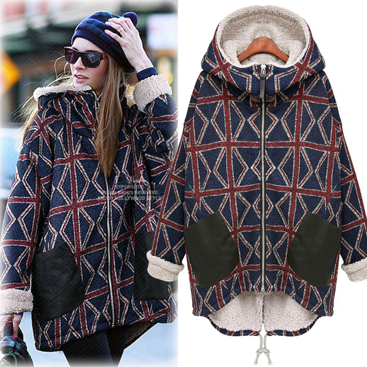 United States large size women 2016 new winter coat with warm cashmere in the long sleeved cotton hoodie coat jacket over there – the united states in the great war 1917–18