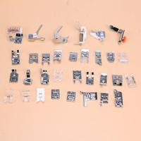32pcs Domestic Industrial Sewing Machine Presser Foot Set Feet Kit Set Sewing Machine Accessories Multi Functional