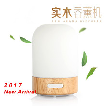 100ml new eletric aroma diffuser air purification humidifiers log ultrasonic air oil fragrance aromatherapy machine