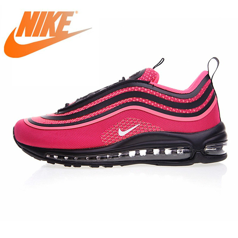 Original Authentic Nike AIR MAX 97 OG Womens Running Shoes Classic Outdoor Shoes Athletic Designer 2019 New Arrival 917999-001Original Authentic Nike AIR MAX 97 OG Womens Running Shoes Classic Outdoor Shoes Athletic Designer 2019 New Arrival 917999-001