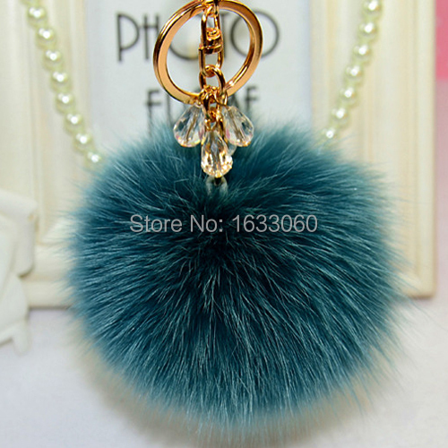 10 Soft real Fur Pom Pom Fluffy Large Genuine Real Fox Fur Keychain Fur Ball Key Chain Key Ring Bag Charm Women Bag Accessories цены онлайн