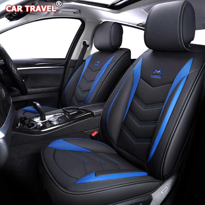Couro de luxo capa de assento do carro para kia sportage rio 3/4 ceed sorento alma niro k2 k3 k5 stonic venga spectra stinger carens assentos