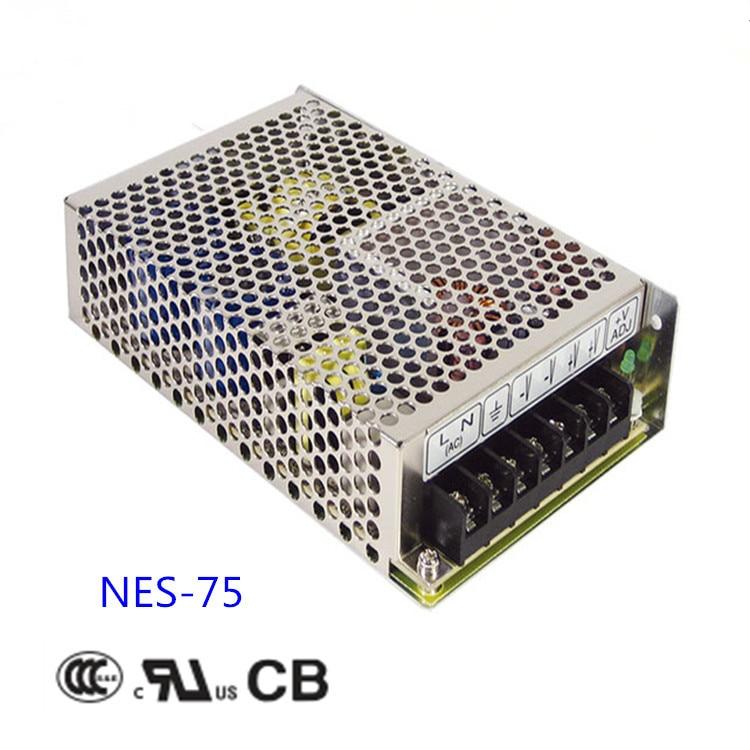 Free shipping 1pc  NES-75-48 76.8w 48v 1.6 A Single  Output Switching Power Supply цена и фото