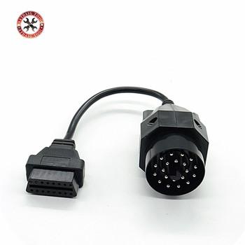 1Pc OBD OBD II Adapter dla BMW 20 pin do OBD2 16 PIN złącze żeńskie e36 e39 X5 Z3 dla BMW 20pin najnowszy darmowa wysyłka tanie i dobre opinie 4inch plastic 8inch Kable diagnostyczne samochodu i złącza VSTM newest latest 2inch 0 1kg diagnostic cable superior one year