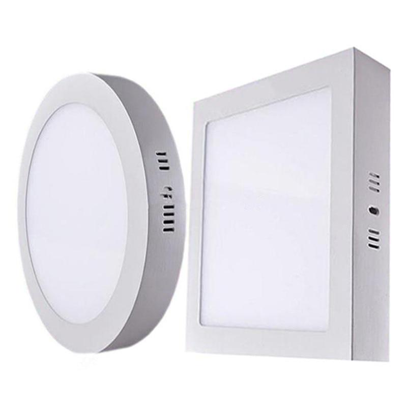 Round/Square Samsung SMD2835 LED Panel Lights 9W 15W 21W ...