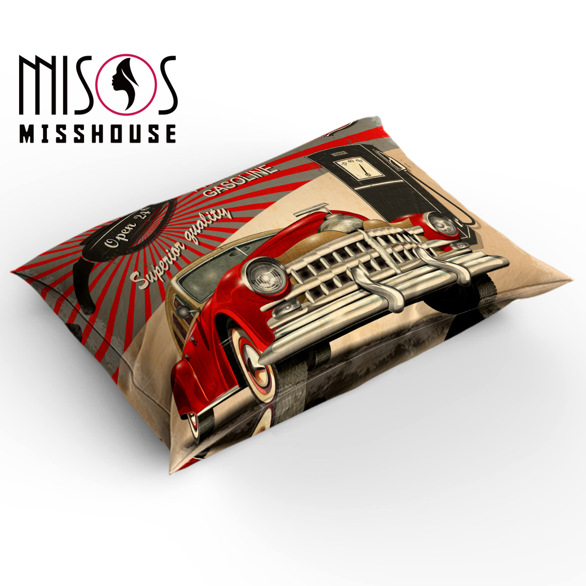 US Classic Historic Route 66 Sign Duvet Cover Bedding Set Pillowcase Quilt Cover