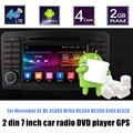 Para Mer/cede B-ENZ GL320Android X164 GL ML CLASS W164 ML350 ML500 6.0 Car DVD player GPS volante controle