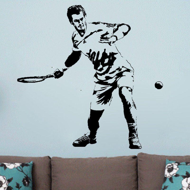 4a69ea5c6f Janela Do Carro Adesivo Decalque Esportes de tênis Muurstickers Cartazes  Nome Tênis De Parede Decalques Da Parede do Vinil Decor Mural Adesivo