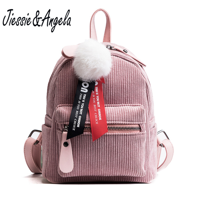 Jiessie&Angela Mini Small Ladies Backpack Girls School Bags  Fashion PU Leather Women Shoulder Bag Bolsas Mochilas Sac aequeen womens backpacks nylon backpack shoulder bags fashion ladies small ruck school for girls travelling shopping bag