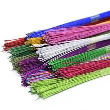 Проволока для цветов в нейлоновой оплетке Диаметр 045 мм 25