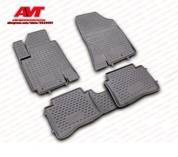 Коврики для hyundai i20 2009-4 шт. резиновые коврики Нескользящие резиновые аксессуары для салона автомобиля