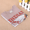 Spring Autumn Indian Design Magnum OPUS Boys T shirt Long Sleeve Brand T-shirts Cotton Children Boy Clothes Baby Shirt LM40