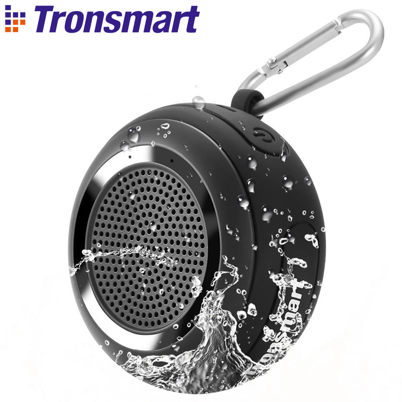 Tronsmart Element Splash IP67 Waterproof Portable Bluetooth Speaker with TWS for iOS Android Smartphones tronsmart element t6 mini bluetooth speaker portable wireless speaker with 360 degree stereo sound for ios android xiaomi player