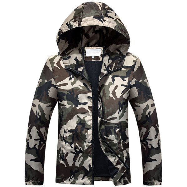 Jolintsai Plus Size 5xl Camouflage Jacket Men 2017 Casual Breathable Jackets Male Army Military Slim Hooded Windbreaker Coat
