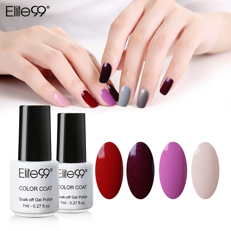 Aliexpress Elite99 7ml Gel Nail Polish Beautiful Color Diy Art Colorful Glaze Paint Colored Avaliable Pick 1 From 58