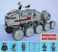 New Star fighter Clone Turbo Tank fit legoings star wars figures technic car model Building Blocks bricks Toy 75151 diy Gift kid