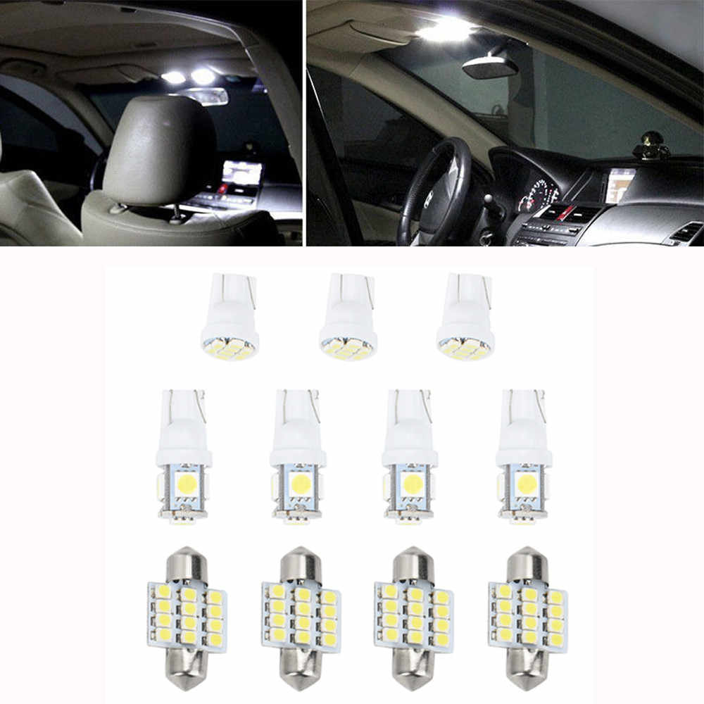 For 11pcs T10 31MM 1.5W COB LED Bulbs Car Festoon Reading Dome Map Light Bulbs Dropshipping 2019 NEW Hot Sale For bmw e87 e46 e3