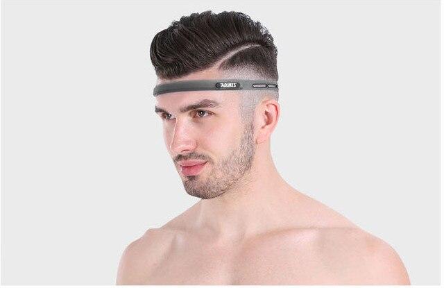 1Pcs Sports Silicone Sweat Belt Running Yoga Hair Girls Anti-slip Hair Bands Sweat Band Fitness Basketball Tennis Headband 5