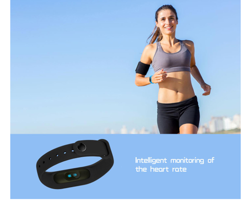 Image 5 - fitness bracelet smart wristband for samsung xiaomi huawei heart rate fitness tracker  waterproof sport smart band english Version-in Smart Wristbands from Consumer Electronics