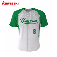 Excellent Quality Knit Baseball Tops Multi Color Baseball Jersey