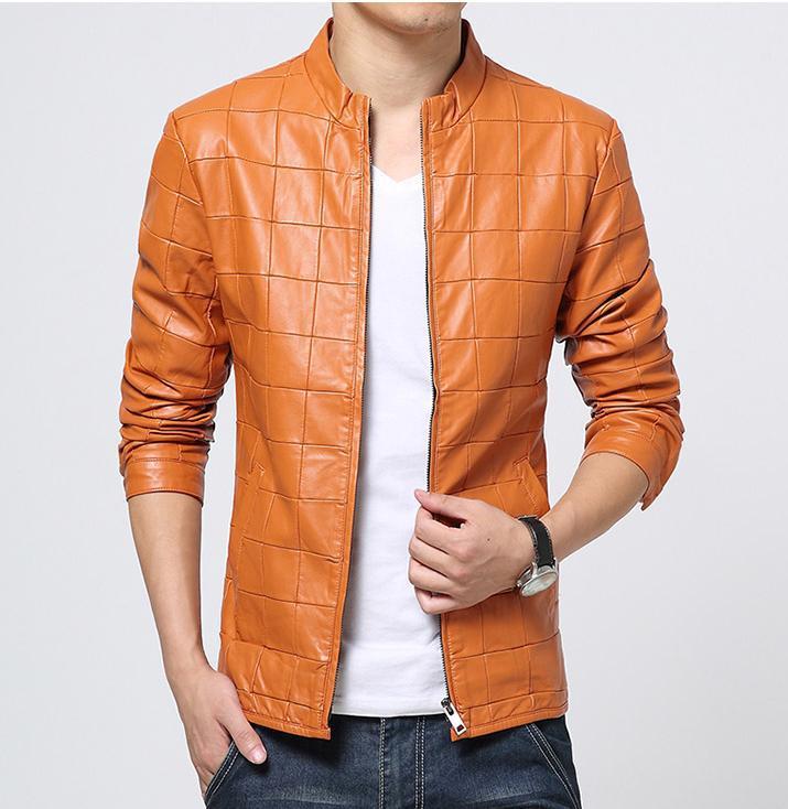 Spring leather jacket mens – Modern fashion jacket photo blog