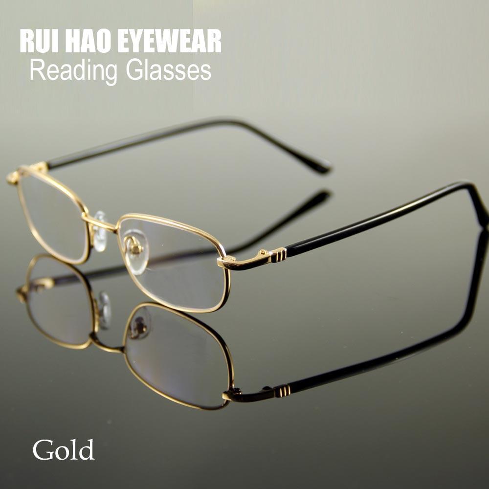 3023b020c6f Reading Glasses 225 Strength Gold