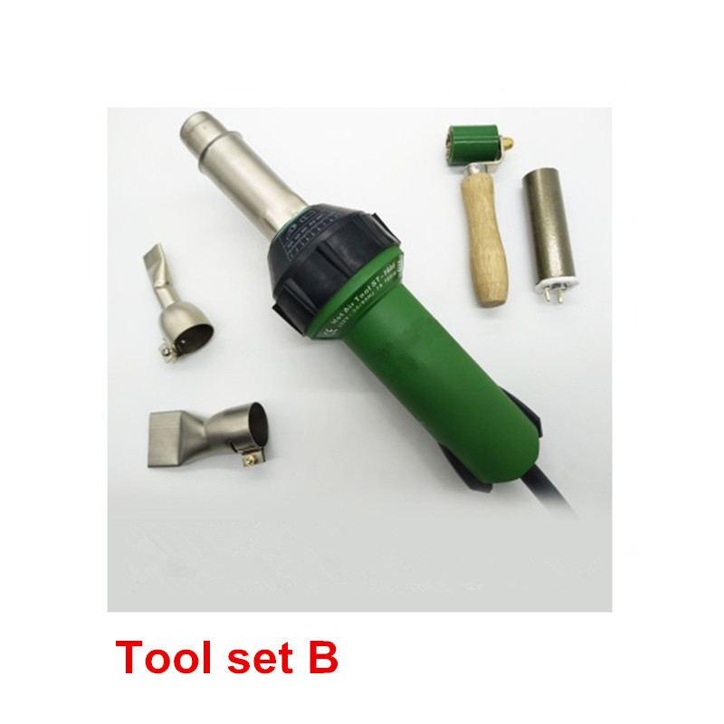 Tools : Free Shipping 1600W Plastic Hot Air Welding Gun with Accessories for Welder machine