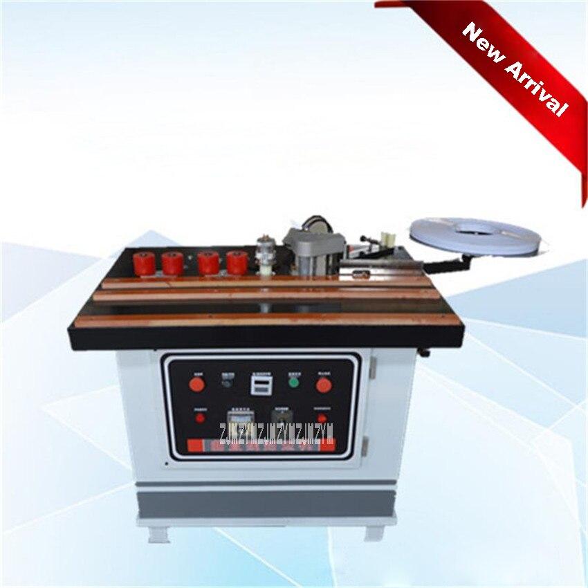 New Arrival Manual Flat Edge Machine Curve Straight Portable Woodworking Edge Banding Machine 220v / 50HZ 3-6KG / cm 0.3-3.0mm