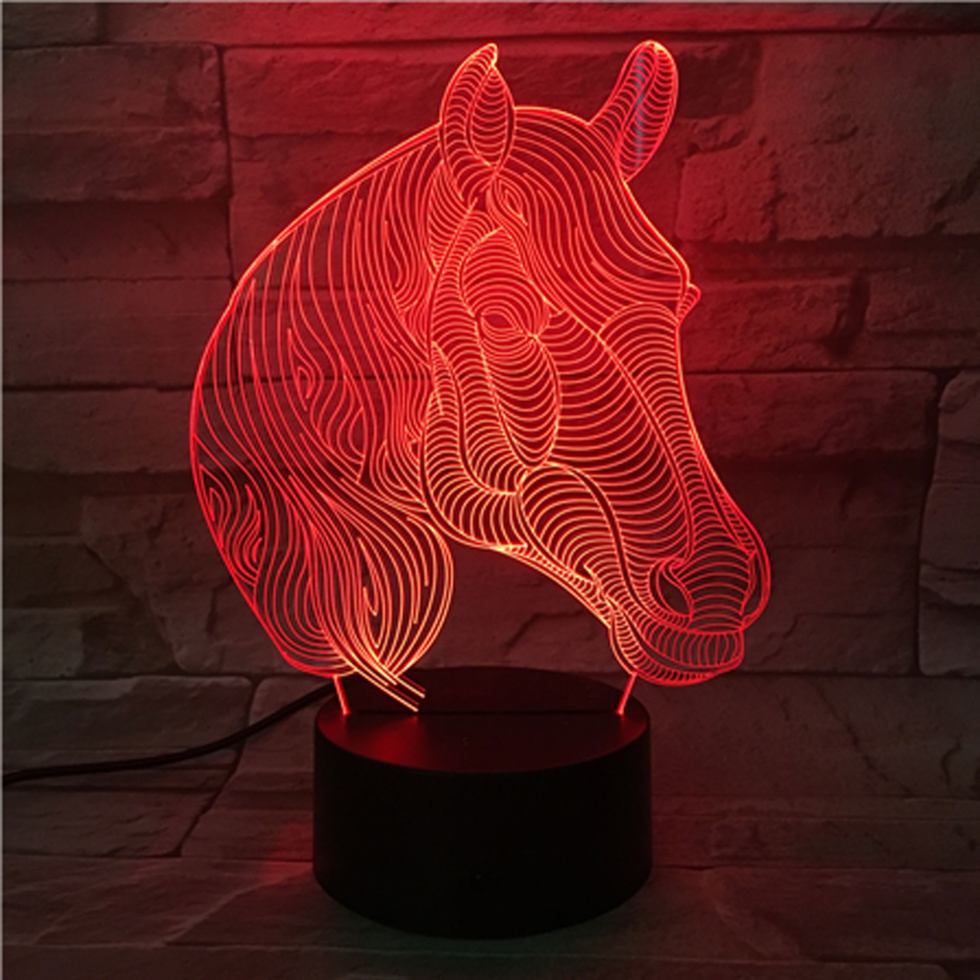 7 Color Change Table Lamps For Living Room Desk Lamp Malaysia Remote Touch Led Nightlight Gift Lighting In From Lights