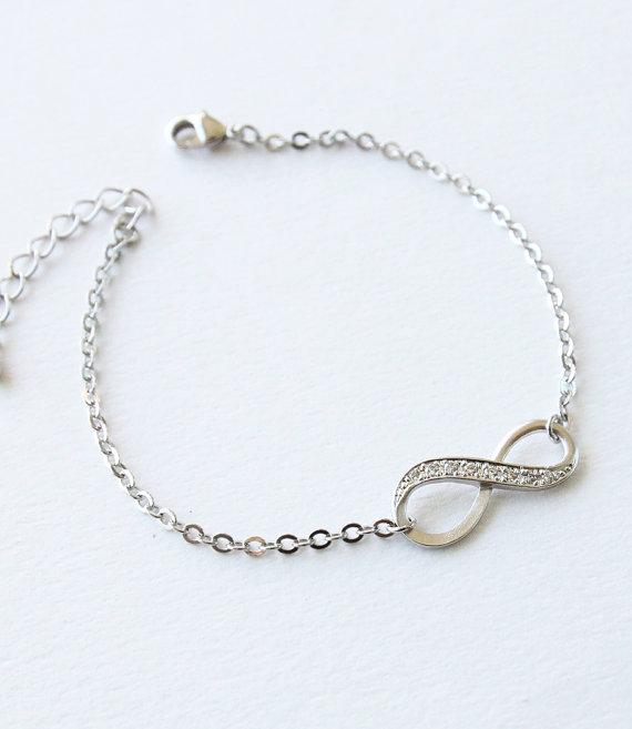 fashion femme jewelry infinity bracelet friendship. Black Bedroom Furniture Sets. Home Design Ideas