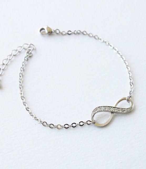 Fashion Femme Jewelry Infinity Bracelet Friendship Bracelet BFF