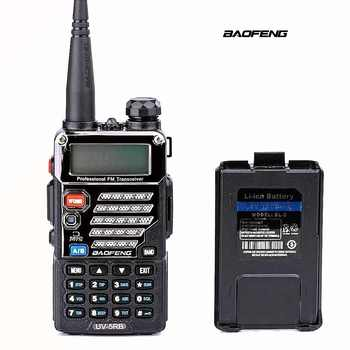 Baofeng UV-5RB ham Two Way Radio for Police Fire Dual Band 136-174Mhz & 400-520Mhz Handheld Scanner Portable Transceiver - SALE ITEM Cellphones & Telecommunications