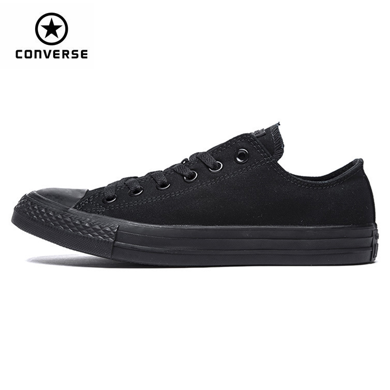 New Arrival Authentic Converse Classic Breathable Canvas Low Top Skateboarding Shoes Unisex Anti-Slippery Sneakers original new arrival converse unisex high top skateboarding shoes canvas sneakers