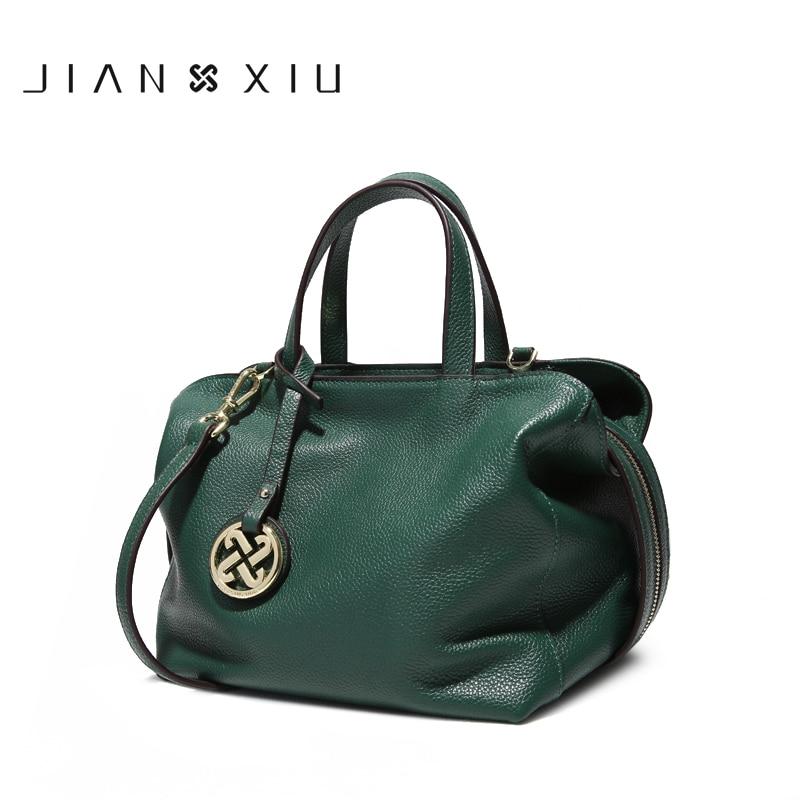 54358f7ff994 JIANXIU бренд для женщин плеча сумки Дизайнерские Сумочки пояса из натуральной  кожи 2019 новые сумки через плечо для роскошные 2 цвета