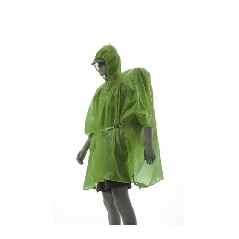 FLAME'S CREED Ultralight 15D Nylon Rain Jacket Hiking Cycling Raincoat Outdoor Camping Mini Tarp Multifunction Sun Shelter Tarp