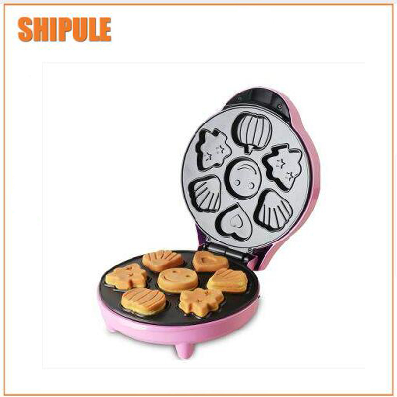 pink Cake Maker Waffle Maker Home Automatic Breakfast Machine Multi-function Waffle Maker