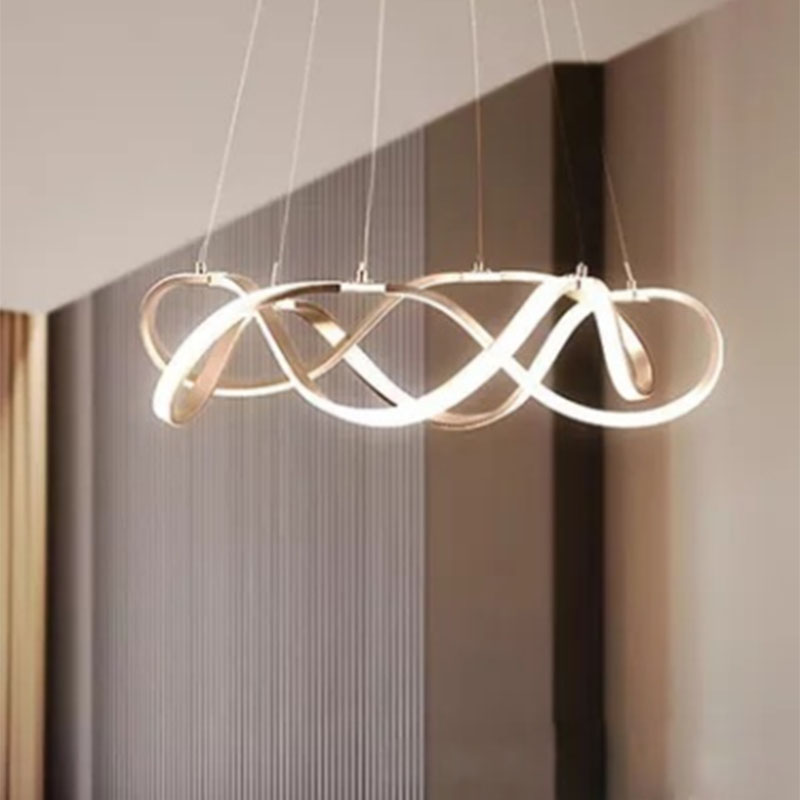Us 151 06 30 Off Joyful Home Modern Alloy Acrylic Art Decoration Pendant Lights Hanging Dining Room Restaurant Led Bulbs Fixture Lamp In