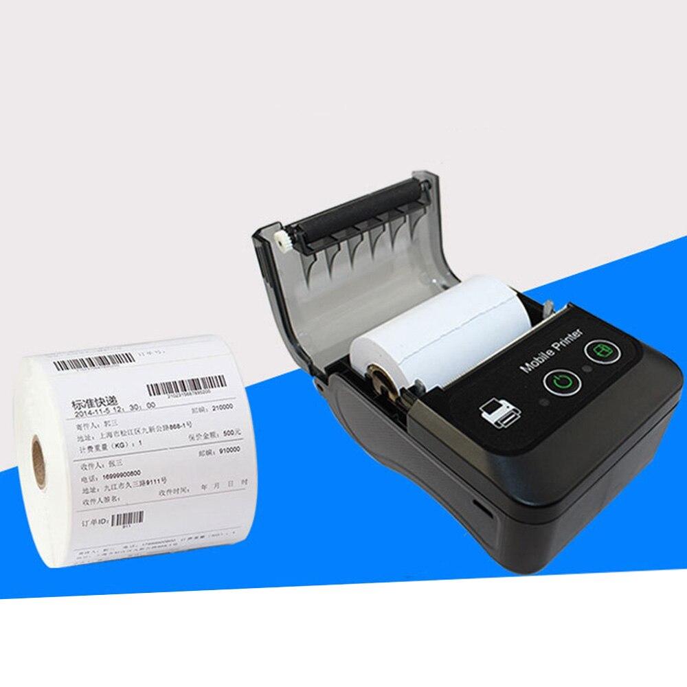 Imprimante d'étiquettes thermiques Bluetooth BT QR Code autocollant imprimantes d'étiquettes de codes à barres offre spéciale - 4