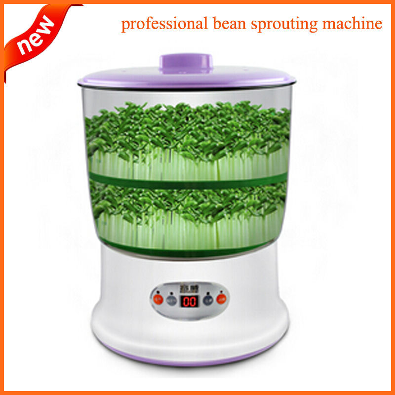 Buy bean sprout maker large capacity new for Indoor gardening machine