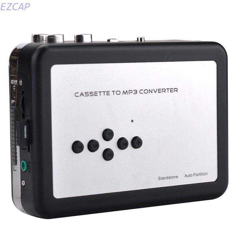 Новинка 2017 Кассета для MP3 конвертер, преобразовать кассета для MP3 сохранить в SD карты памяти непосредственно, ПК не требуется Бесплатная дос...
