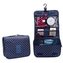 Hanging Travel Toiletry Storage Bag Men's Toiletry Bag Women Cosmetic Small Kit Carry Bag Bathroom Makeup Wash Bag Organizer