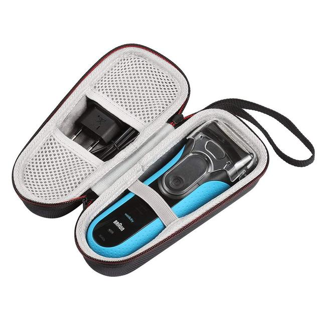 Newest EVA Carry Case for Braun Series 3 ProSkin 3040s 340S 310 Mens Wet and Dry Electric Shaver/ Razor Travel Protective Bag