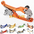 8 Color CNC Pivot Levers Racing Dirt Bike Clutch Fot KTM 125 EXC 200 EXC/XC-W 2014-2016 Motocross Off Road Brake Clutch Levers