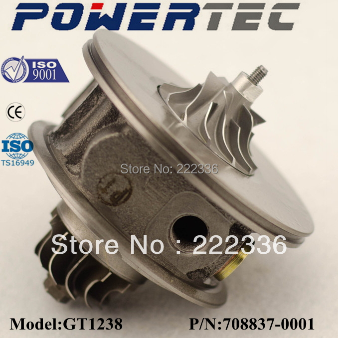 Turbo core GT1238 708837-0001 1600960499 CHRA 708837 FOR MERCEDES-BENZ Smart --M160 0.6L gt2256v turbo charger cartridge for mercedes benz e class 270 cdi w210 m class ml 270 cdi w163 om612 core assy chra 715910