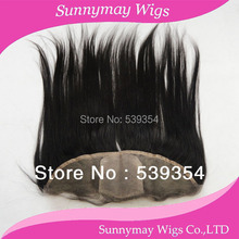 Hot selling Virgin Brazilian straight hair silk base lace frontal closure 13×4