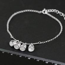 Galen Sterling Silver Bell Bracelet