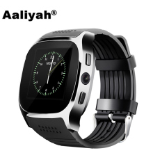 Aaliyah T8 Bluetooth Smart Watch With Camera Facebook Whatsapp Support SIM TF Card Call Smartwatch For Android Phone PK M26 DZ09